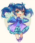 Commission - Blue Wave