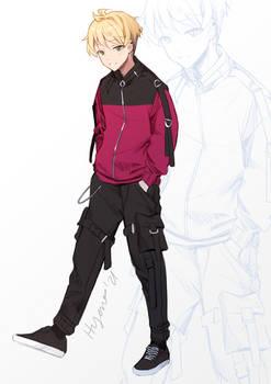 OC - Niwa Genderbend