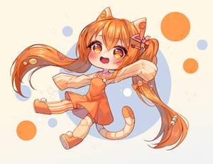 Commission - Sweet orange