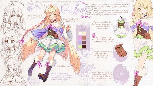 Commission - Aerin design