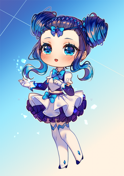Commission - Sparkly Sapphire