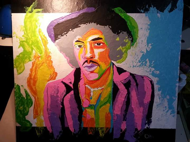 Jimi Hendrix by nhagar