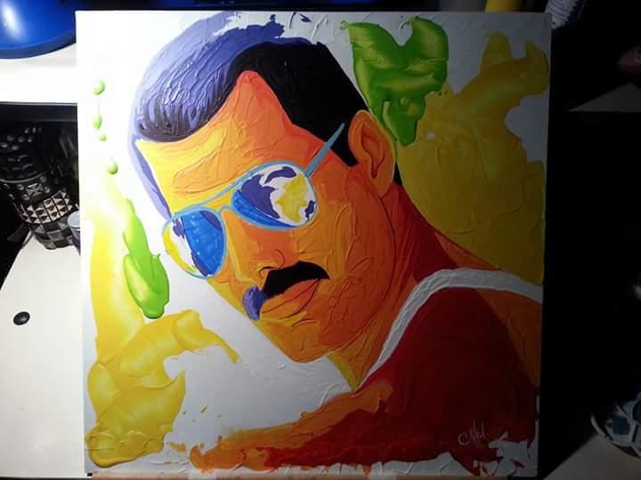 Freddie Mercury by nhagar