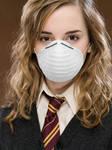 Hermione Granger wearing Her Dust Mask