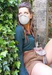 Sarah-Hume-wore-dust-mask