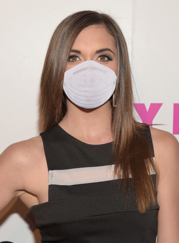Alyson Stoner wearing her dust mask by Ninjacat14 on DeviantArt