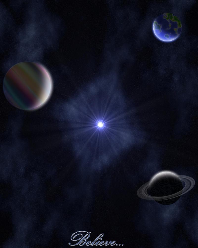 Universe... Believe by artscapesbyamy