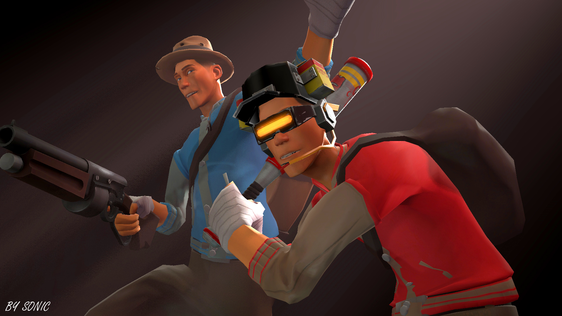 [SFM] Public Enemy Set and Super Bolt Boy Set by ...
