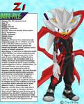 New character: Zi the Hedgehog