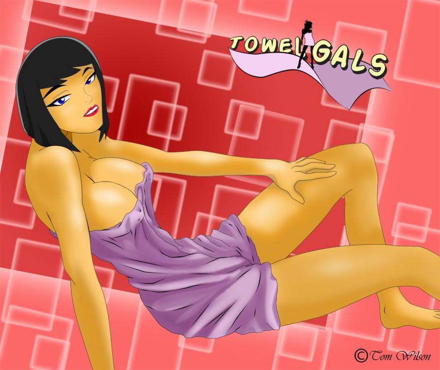 Towel Gal Madame Rouge by tbone111