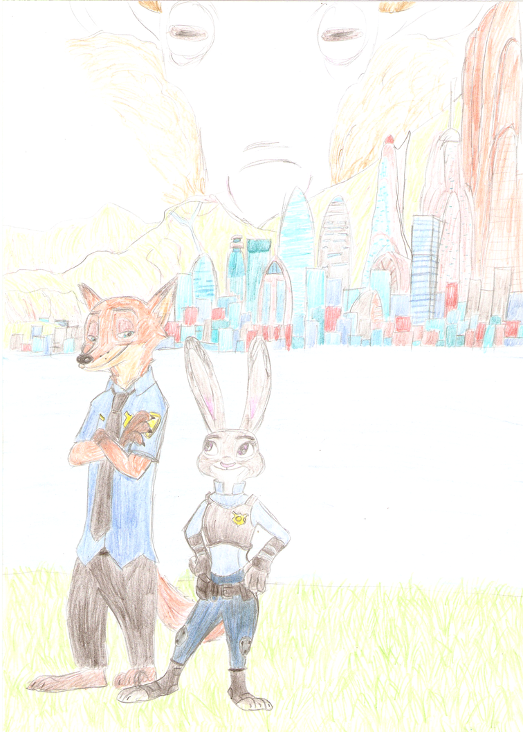 Zootopia Chronicles cover V2 by ggctuk