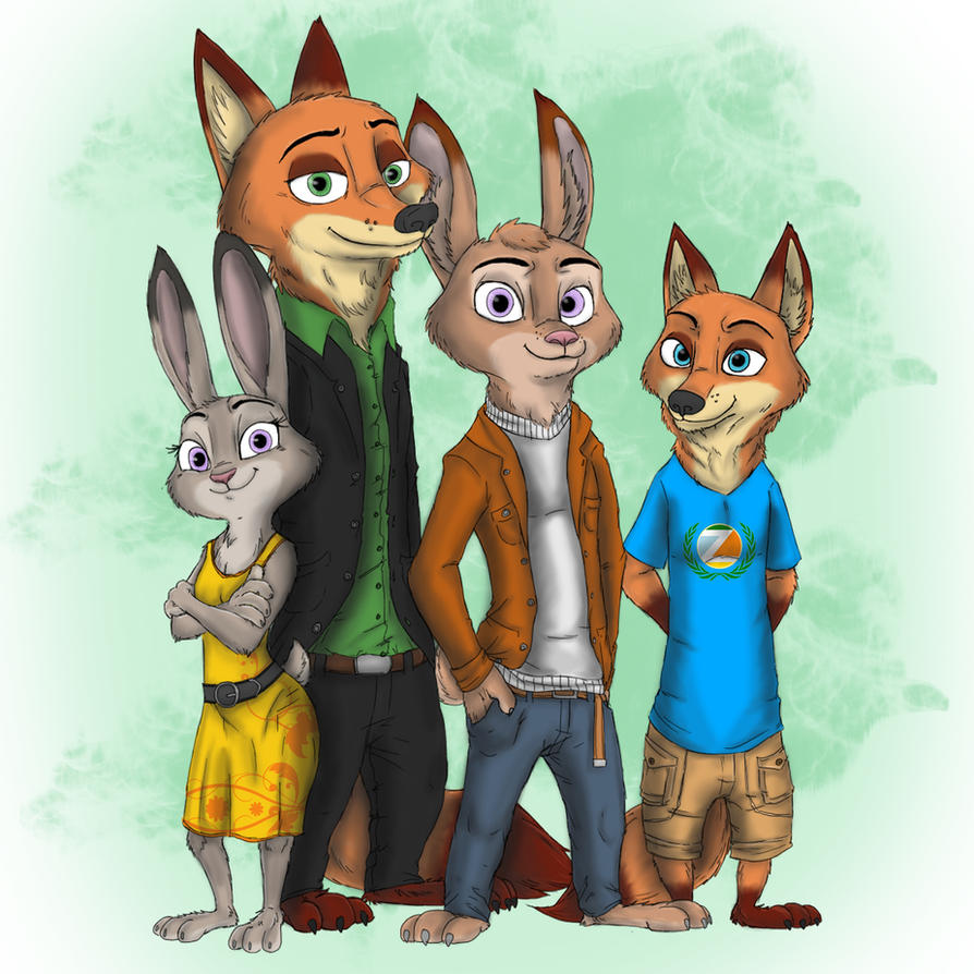 Zootopia Fanfic: Story: Grief's Reunion