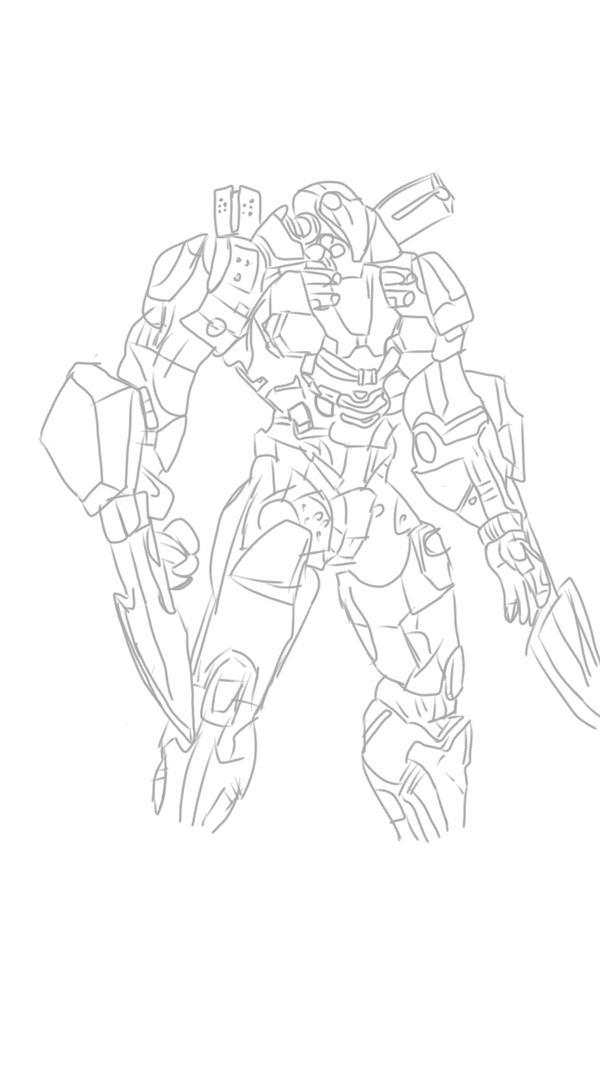 consept Jaeger art by thatcathuman123