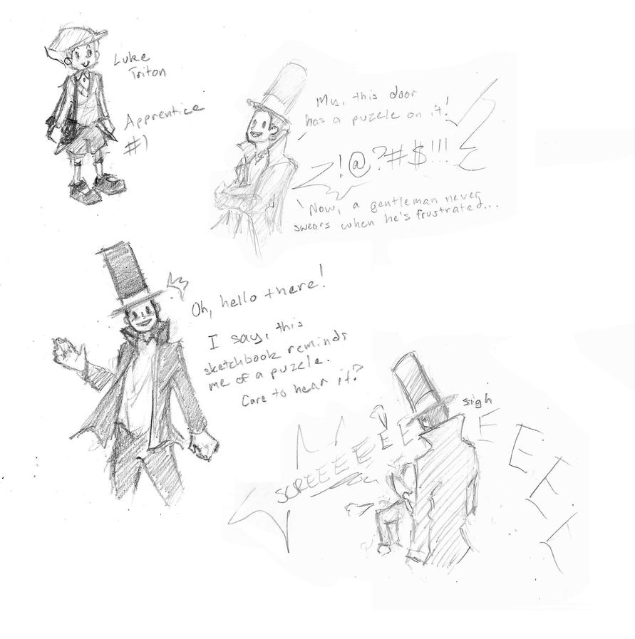 [Professor Layton] - LARGE AMOUNTS OF DUMBO by superpiejr