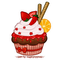 Pepper Cupcake by SugarPepper