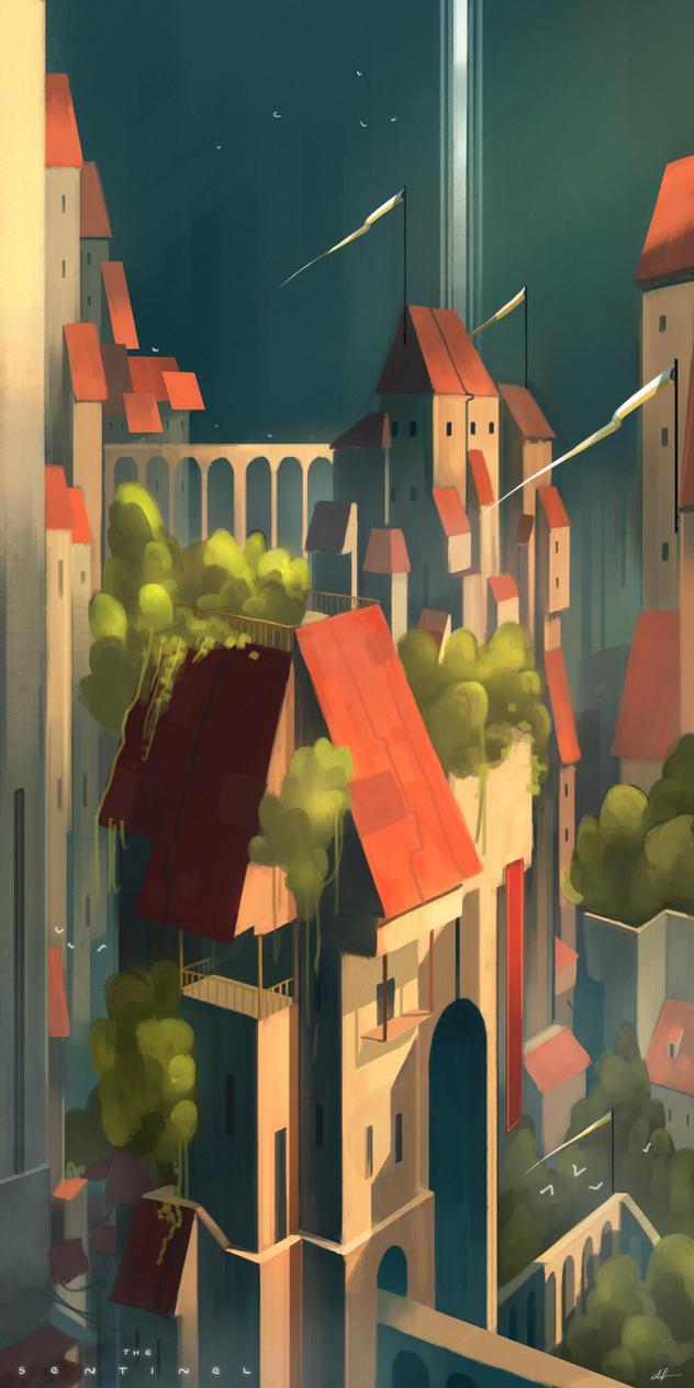City Interior by Nathan-Pierce