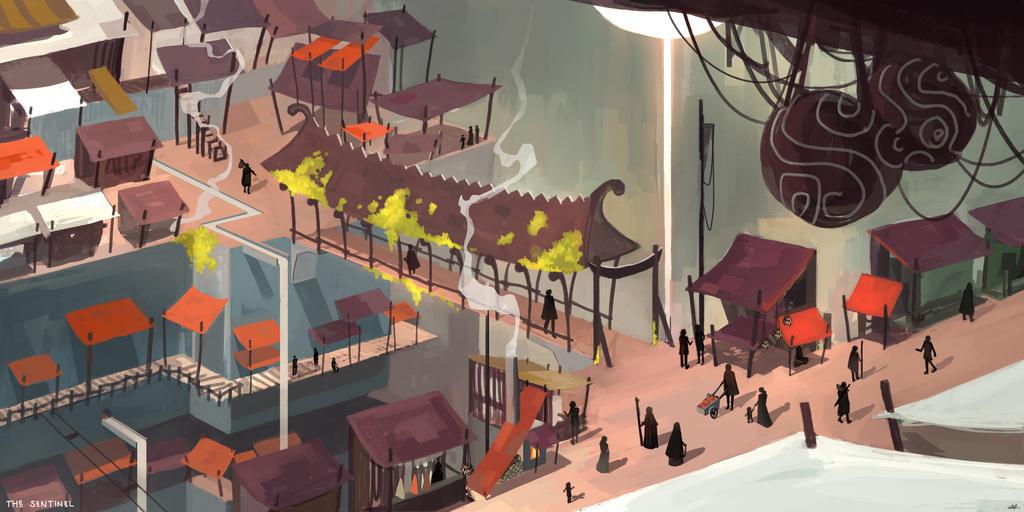 City market by Nathan-Pierce