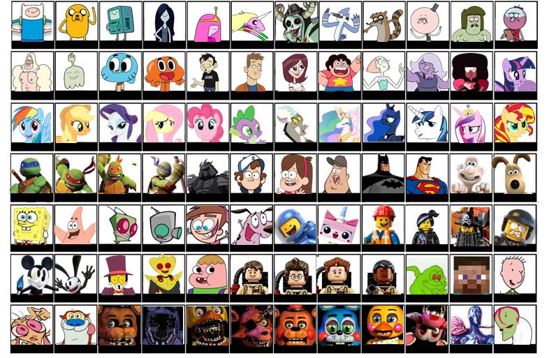 Super Smash Bros Cartoon Roster Update 4 By Broxome On Deviantart