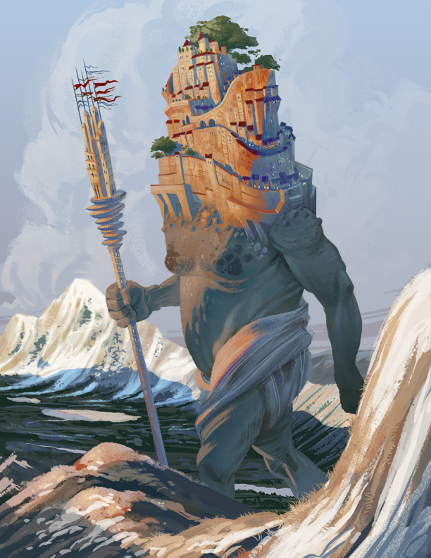 Wandering Giant by brandondayton
