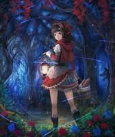 Red Riding Hood by MarieMjoelnir