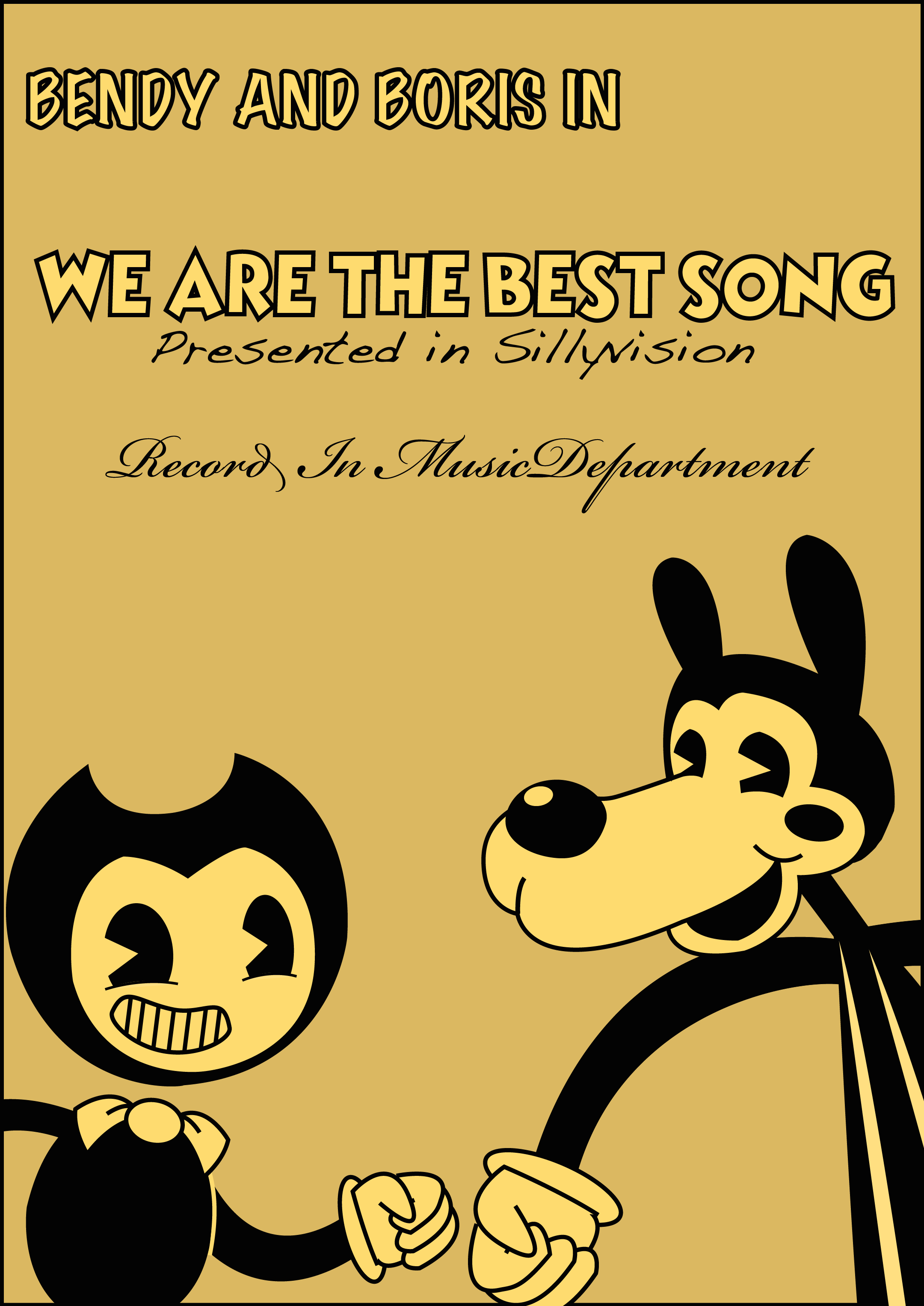 bendy and boris in we are the best song by Rui0730