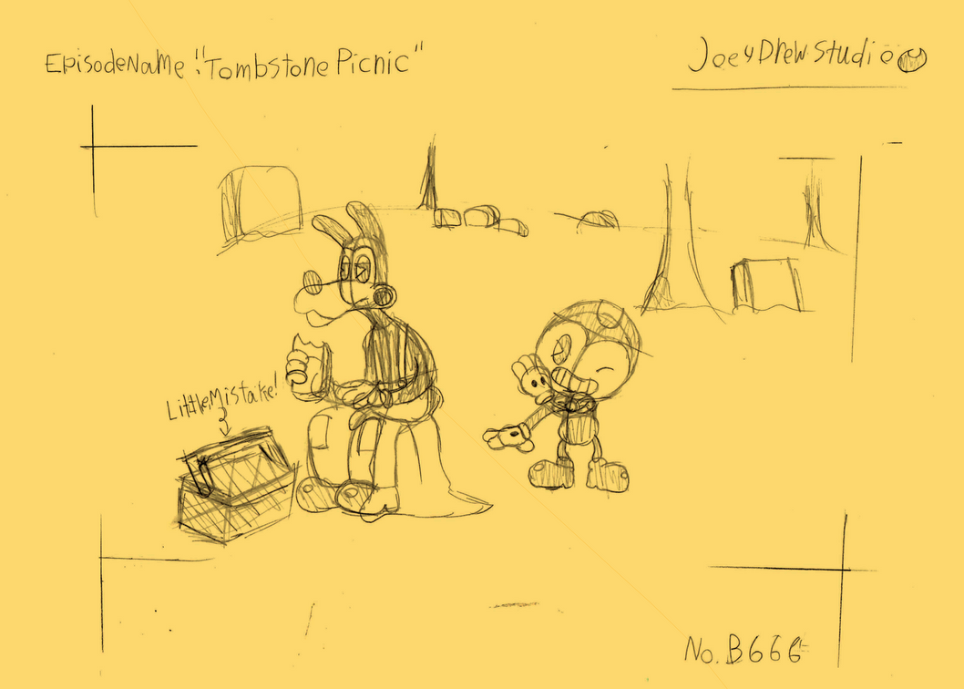 Tombstone Picnic Drawing(contest entry) by Rui0730