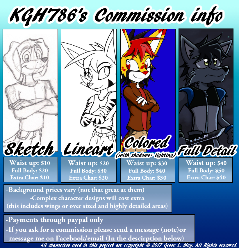 Furry(sonic)-Commisions by KGH786