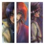 Rurouni Kenshin Bookmarks