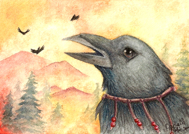 ACEO - Keeping Secrets by seabird
