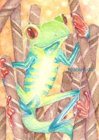 ACEO - Cocoa Jungle by seabird