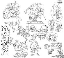 Sonic 3 Tribute Sketchdump by AniMerrill