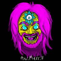 CYMK Self Portrait by AniMerrill