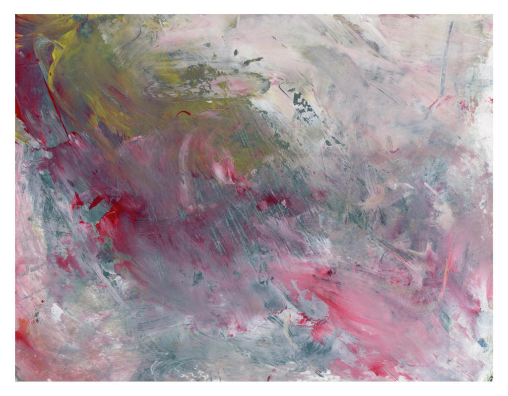 Abstract fine art with pastels and light grays that give the feel of the story