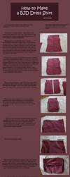 How to Make BJD Dress Shirts by RodianAngel