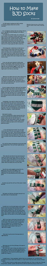 How to Make BJD Socks