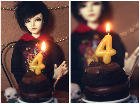 Happy 4th Birthday, Rodya!