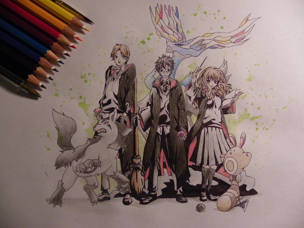 Great Wallpaper Harry Potter Watercolor - the_trainer_harry_potter_by_dumoria_dro-d6hhbon  Trends_1003150.jpg