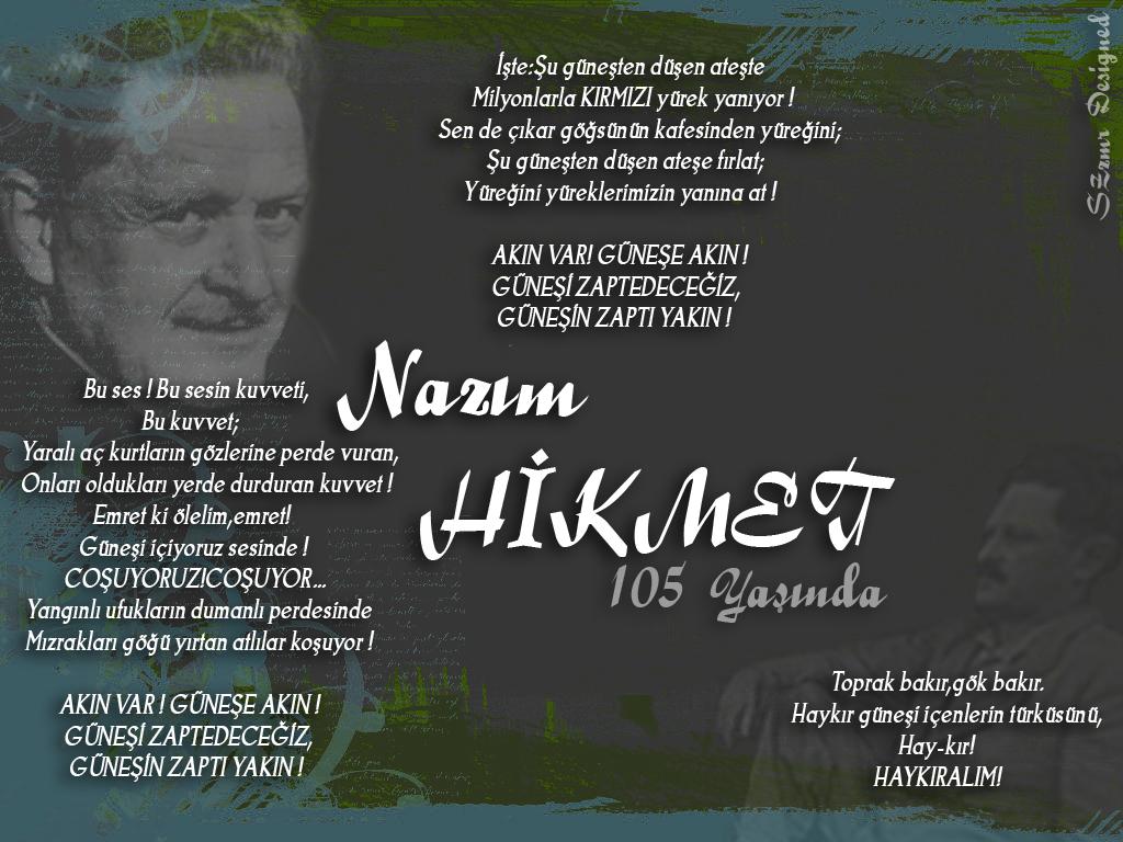 Nazim Hikmet 105 yasinda by SparkliApex