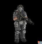 Titanfall - IMC Grunt (battle rifle)