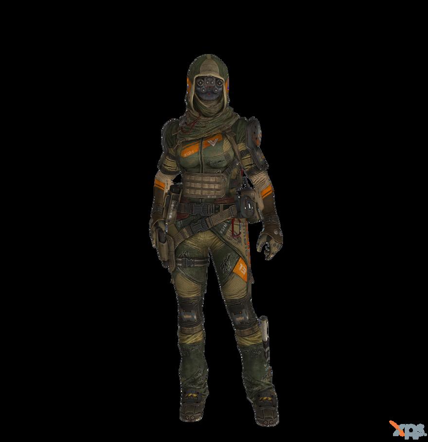 Titanfall - M-COR Pilot (designated marksman) by Bringess ...
