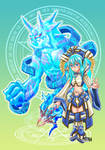 SummonerII and Water Elemental