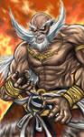 Jinpachi Mishima-Tekken FanArt by LoneWolf64