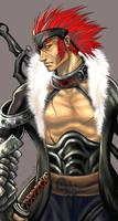 CG Male Study-Warrior