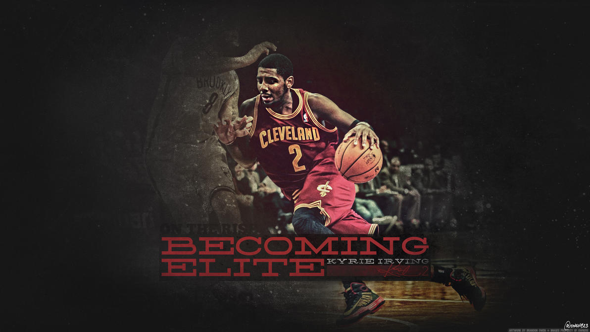 Popular Wallpaper Logo Kyrie - kyrie_irving___becoming_elite_wallpaper_by_owenb23-d5u89os  Graphic_526039.jpg