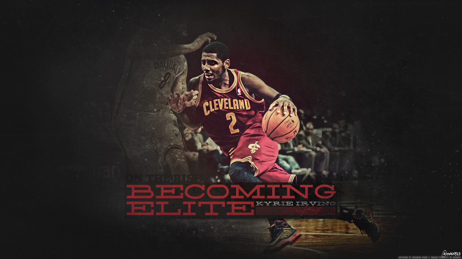 Hd wallpaper kyrie irving - Dunkakis 6 0 Kyrie Irving Becoming Elite Wallpaper By Owenb23