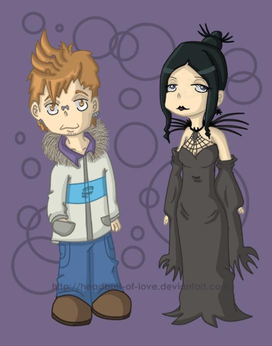 Soul Eater Arachne And Giriko SE - Giriko and...