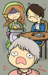 APH - Theres a bird... by headbutt-of-love