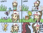 Kanto and Unova