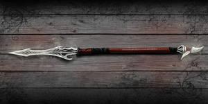 Asshary's polearm by Gargunaft