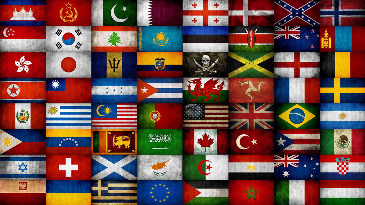 world flags by atillawolf ...